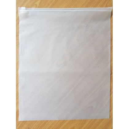 Ziplock Bag Plastik Tudung Forsted Clothing Travel Slider Ziplock Bag (50pcs/Pack)